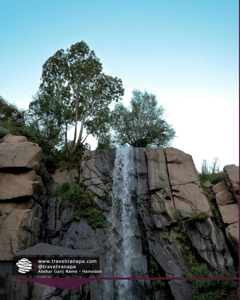 ganjnameh_waterfall, hamedan, iran